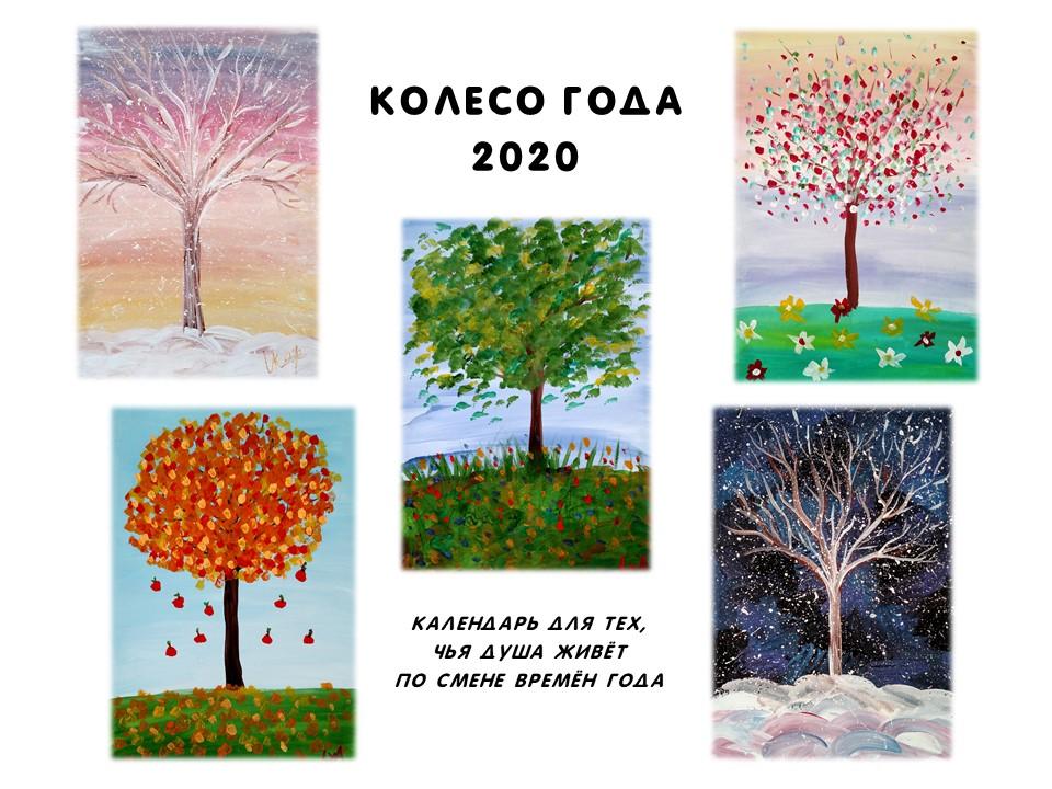 Календарь Колесо года 2020