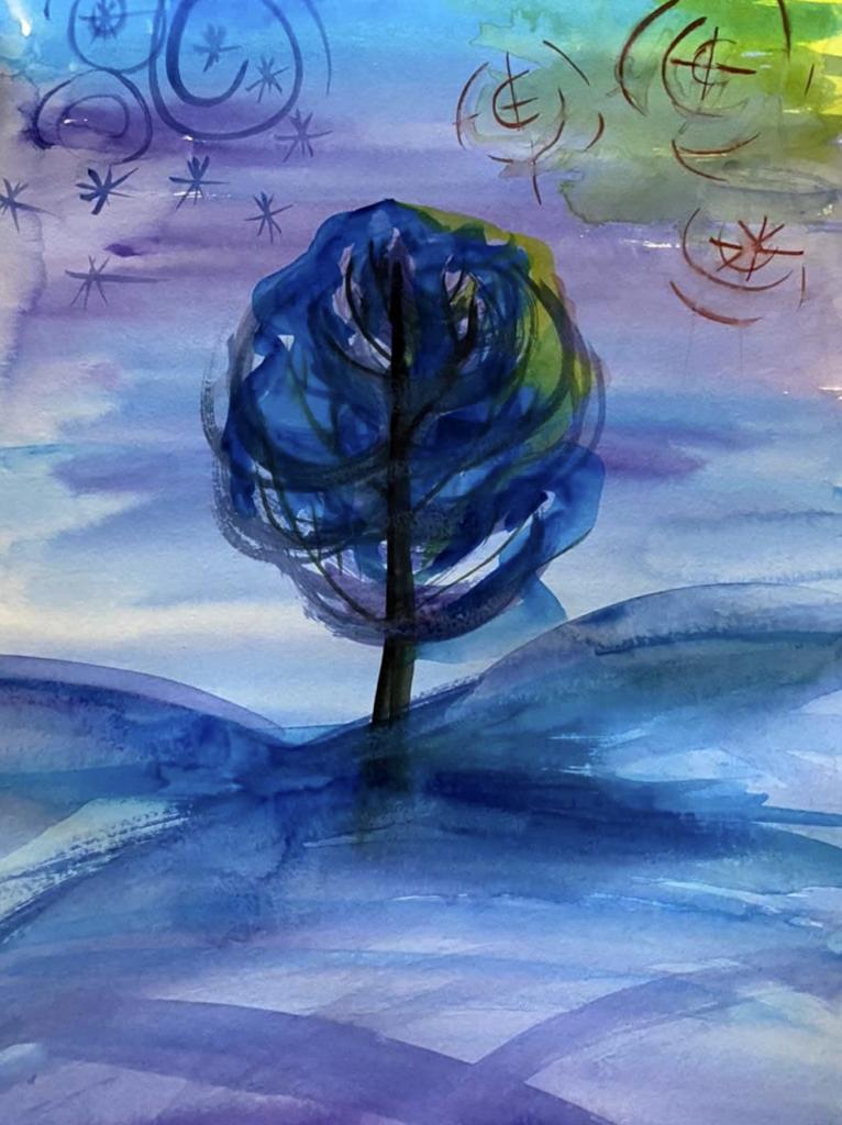 Рисунки Времена года моей души журнал Душевная Алхимия июнь 2021